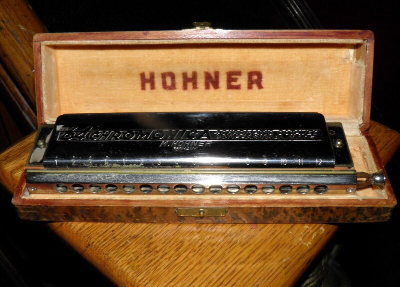 Vintage 64 Chromonica In The Key Of C By Hohner Model 280 64