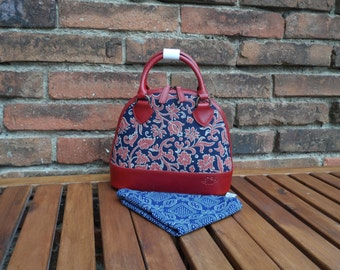 Dilians HANDPRINTED leather handbag JITKA2 F020201