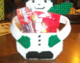 Snowman Treat Basket Great For School/church