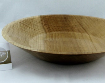 Fruit plate or service made from Big leafe Maple apprx. 11 in. x 2 in. item number: 51
