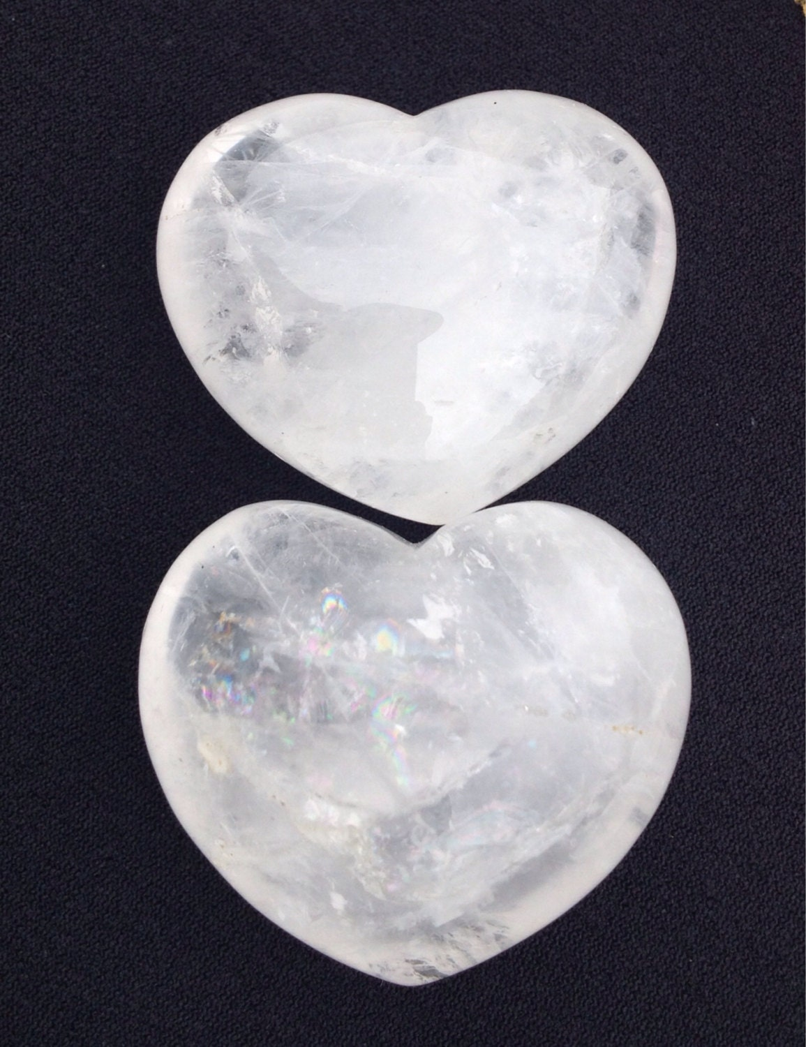 clear crystal heart - photo #12