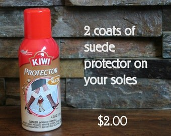 Add 2 Coats Suede Protector to your Sheepy Shoes Suede Soles - Suede Protector