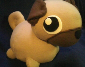 Pug plushie