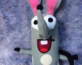 Plush toy inspired by Boj, Cbeebies cartoon