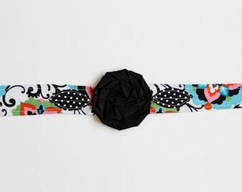 Kaleidoscope - Fabric Flower Headband