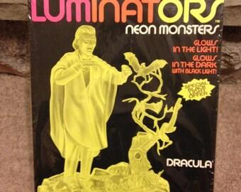 Luminator's Neon Monsters Dracula 1991 Unopened Model Kit