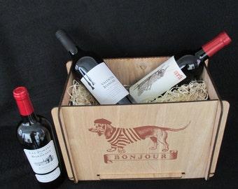 Great Gift!  Wine Storage or Wine Gift Box