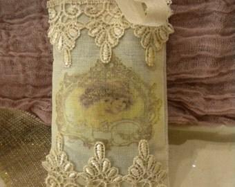 Lavender Potpourri Sachet Victorian Angels