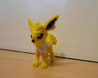 Pipe Cleaner Figure - Jolteon (Pokémon)