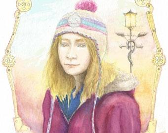 Edward Elric fan art portrait