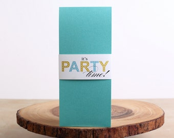 Adult Birthday Invitation- look 12