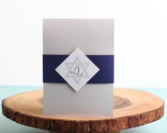 Bar Mitzvah Invitation - look 10