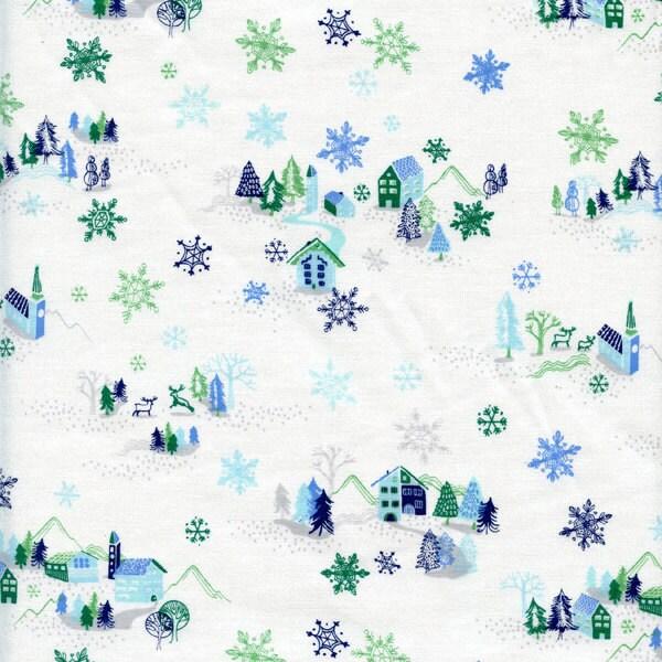 Dear stella tinsel town cotton fabric blue by the yard