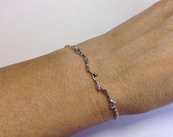 Tiny Branch Bracelet