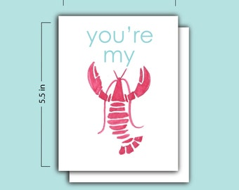 You'e My Lobster Card