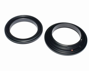 Lens Reverse Rings To Convert Any Lens Into A Macro Lens For Extreme Close-Up Photography