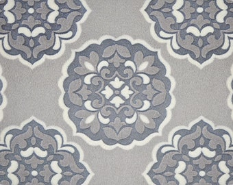 ON SALE!  Barcelona Carbon Embossed Cuddle Minky from Shannon Fabrics 1 yard, carbon, grey, gray minky, Mar Bella Barcelona