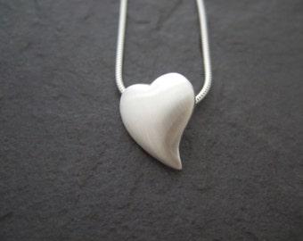 3D Puffed Heart Pendant