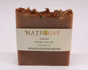 Almond Soap (Saponified)