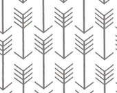 """ARROWS Cool Gray-white background or Choose Color PremierPrints Fabric 54"""" wide Fabric by the yard cotton decorator fabric FAST SHIPPING"""