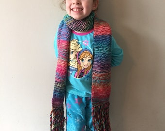Candy Colored Sparkly Scarf