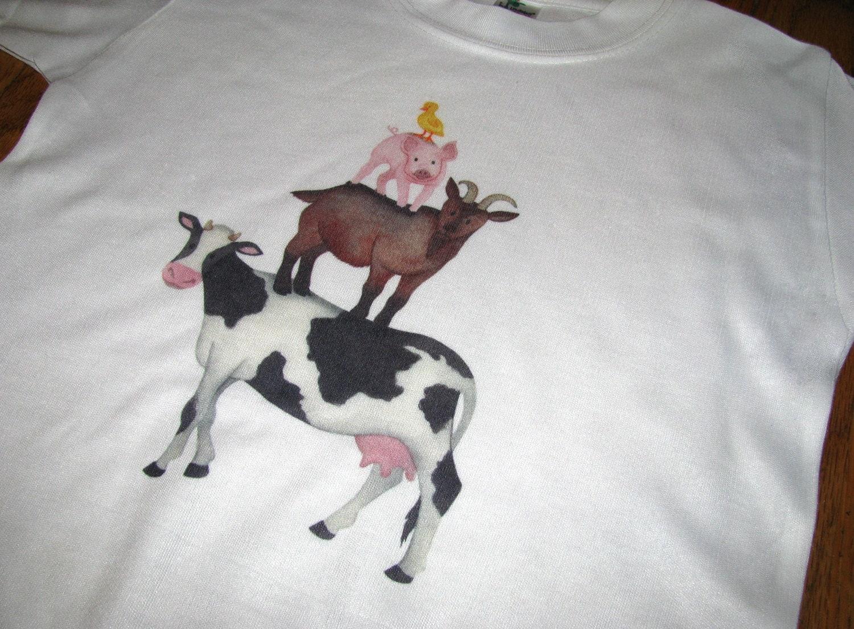 Kids Clothes Kids Shirt Farm Animal Shirt Farm By