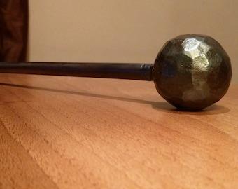 Hand Forged Fire Poker ~ Blacksmith Made  ~ Wrought Iron~ Fire Tool ~ Aga~ Log Burner ~ Homeware Gift