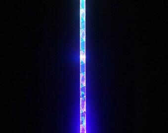 "FLASH SALE!! 7 - Mode LED Levitation Wand for Flow & Dance ""The Crystalline Entity"" Hybrid Day/Night Wand"