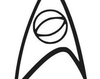 STAR TREK SCIENCE Logo Vinyl Decal Sticker Car Window Laptop Wall Choose Size and Color