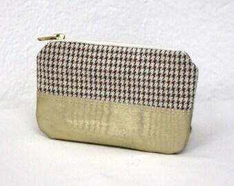 ANTOINE zipper coin purse // card holder