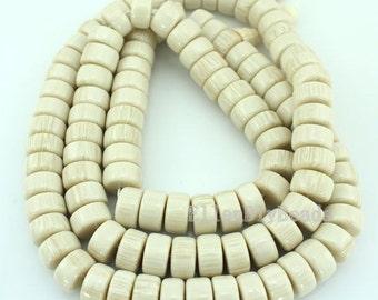 108Pcs Buddha Beads Resin Healing Buddha Prayer,White Acrylic Resin Beads,White Resin Beads,ON-0.8x15MM-39inchs-BP0039