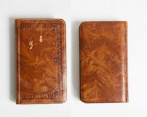1929 catholic missal, antique prayer book, vintage French religious book, illustrated Roman missal, art deco book illustrations