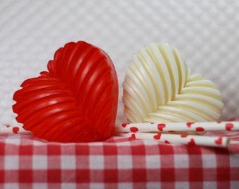 Swirl Heart Soap Bar
