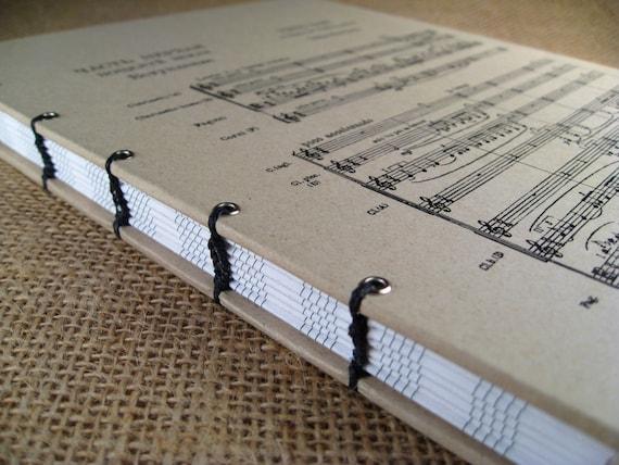 Manuscript Paper Notebook Manuscript Staff Paper