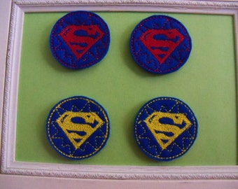 Superman Feltie 2 COlor Choices