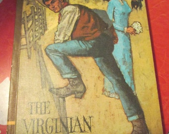 1968 Hardcover Copy Of The Virginian By Owen Wister