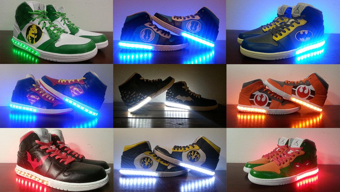 Men S Custom Light Up Shoes