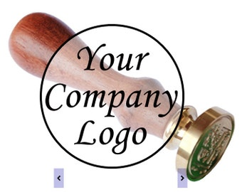 CUSTOM ORDER Wax Seal Stamp personalized design with your company logo or family crest