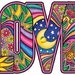 Celestial LOVE Full Color Sticker Decal *FREE SHIPPING***
