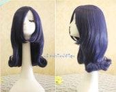 50cm Long Blue Beautiful Lolita Wig Anime Wigs, Cosplay Wig UF001