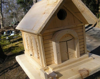 Unfinished Birdhouse Church