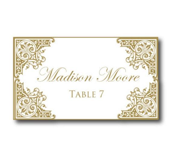 Wedding Place Cards Template Microsoft Word 28 Images Custom