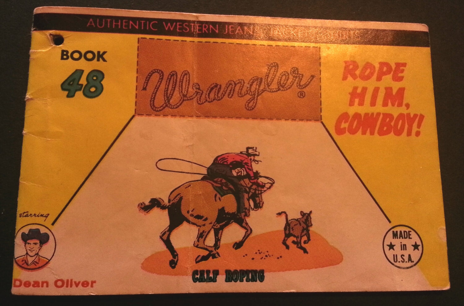 Calf Roping Supplies Comic Calf Roping