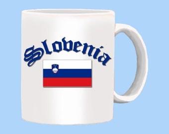 Slovenia National Flag Coffee Mug