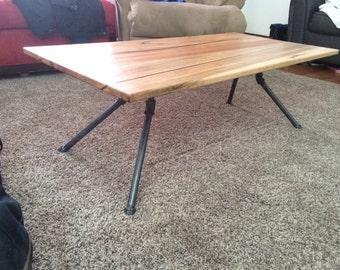 Maple-Mahogany Coffee Table
