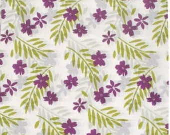 Purple Passion Floral Tissue Paper # 279 / Gift Wrap    ... 10 Large Sheets  - Flowers, purple, garden