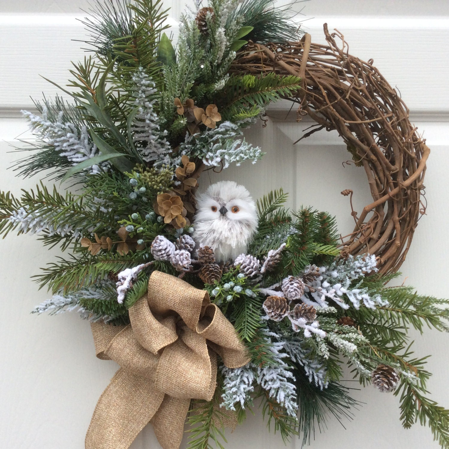 1000 Images About Ideas Pet Decor On Pinterest: HOLIDAY SALE 15% Off-Christmas Wreath-Holiday Wreath-Winter