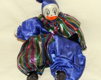 VINTAGE CHUBBY CLOWN . . Little & Adorable