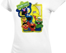 Sesame Street Characters Women's and Men's  Size