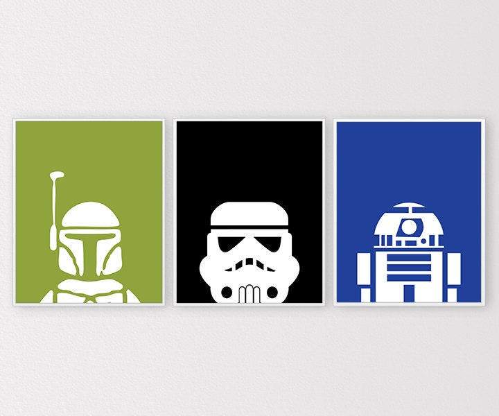 Star wars prints star wars printables minimal by for Chambre 8x10
